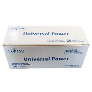 AAA batteripakke - 40 stk. Fujitsu Alkaline batterier