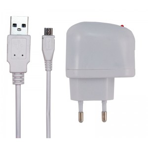 AC MicroUSB Charger 1,5m